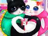 Heart Cats Dress Up